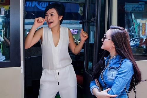 """Vy Oanh hẹn hò """"cầu cứu"""" Phương Thanh - Ảnh 2"""