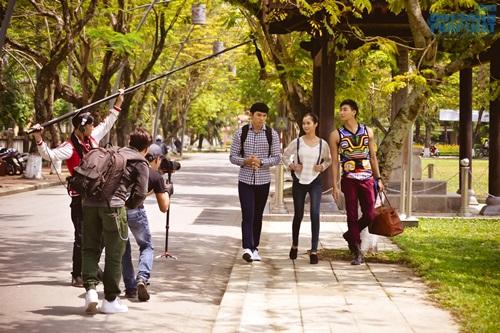 Ngọc Tình, Hữu Long tham gia phim ngắn mừng Festival Huế - Ảnh 4