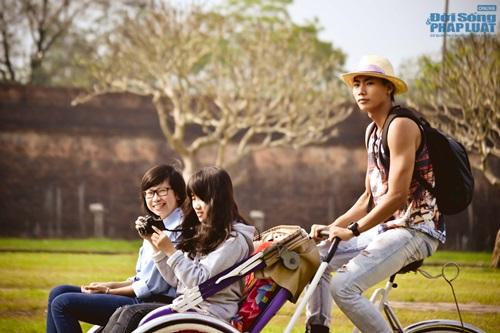 Ngọc Tình, Hữu Long tham gia phim ngắn mừng Festival Huế - Ảnh 5