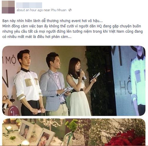 Kim Soo Hyun bị lên án vì yêu cầu fan Việt đứng lên tưởng niệm  - Ảnh 3