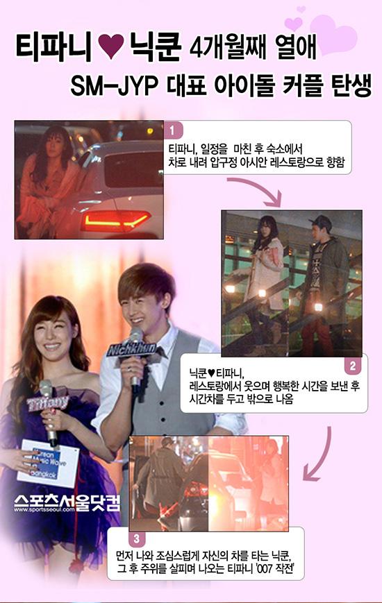 Tiffany - Nichkhun: Cặp đôi hot nhất, đẹp nhất Kpop - Ảnh 1