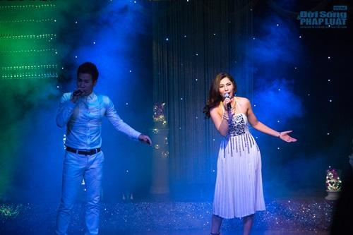 Hiệp Gà tái xuất sân khấu Thủ đô trong minishow của Lưu Kỳ Hương - Ảnh 2