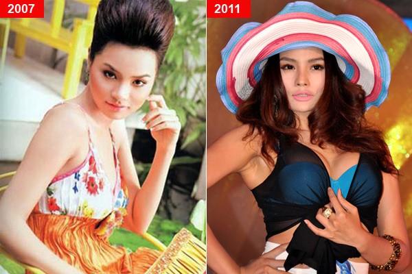 Mỹ nhân Việt trước và sau nghi án nâng ngực - Ảnh 5