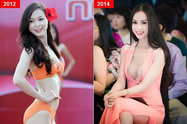 Mỹ nhân Việt trước và sau nghi án nâng ngực - Ảnh 7