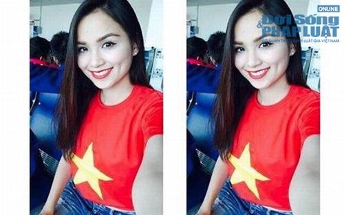 Sao Việt mặc áo in cờ đỏ sao vàng thể hiện lòng yêu nước - Ảnh 13