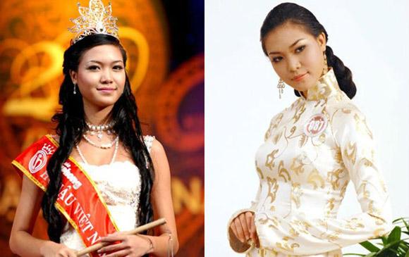 3 hoa hậu Việt lột xác từ đen nhẻm sang trắng sứ - Ảnh 11