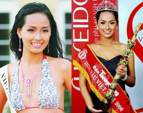 3 hoa hậu Việt lột xác từ đen nhẻm sang trắng sứ - Ảnh 8