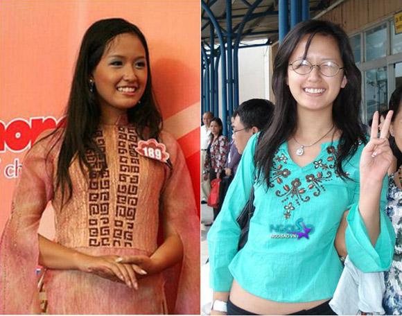 3 hoa hậu Việt lột xác từ đen nhẻm sang trắng sứ - Ảnh 9