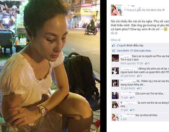 HH thế giới người Việt bị bạn trai đánh bầm dập? - Ảnh 1