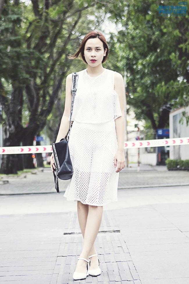 Street style sao Việt tuần qua: Hà Hồ khoe chân dài thẳng tắp - Ảnh 7