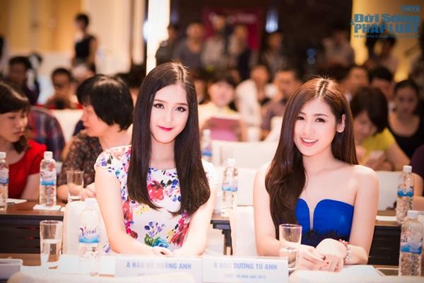 Dàn Hoa hậu, Á hậu hội ngộ trong họp báo Hoa hậu Việt Nam 2014 - Ảnh 14