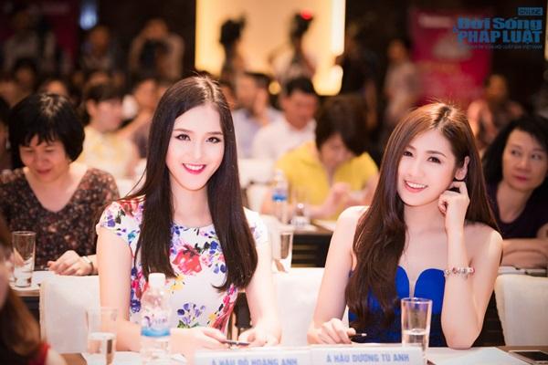 Dàn Hoa hậu, Á hậu hội ngộ trong họp báo Hoa hậu Việt Nam 2014 - Ảnh 13