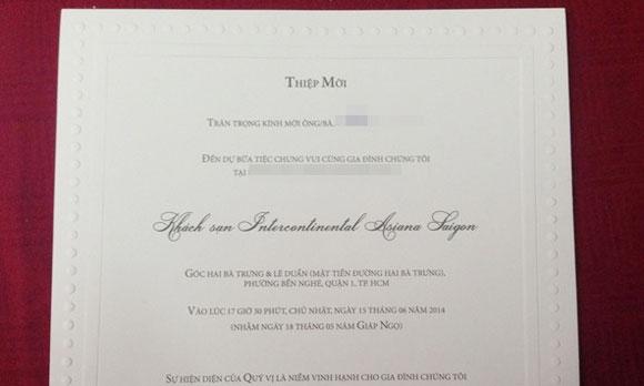 Lộ thiệp cưới Trà My Idol kết hôn với bạn trai ngày 14/6 - Ảnh 3