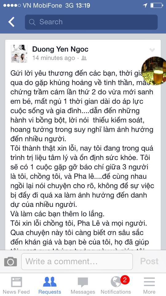 Pha Lê dọa kiện, Dương Yến Ngọc lại nói lời xin lỗi - Ảnh 4