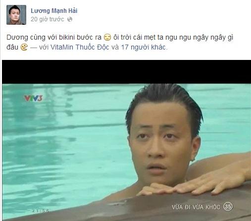 Lương Mạnh Hải, Minh Hằng suýt chết đuối vì hôn nhau dưới nước - Ảnh 6