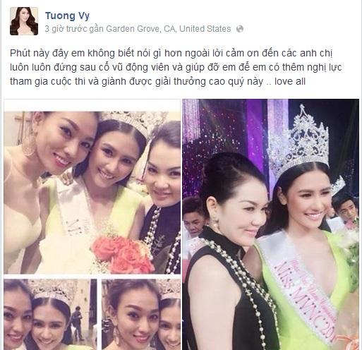 Tường Vy đăng quang Hoa hậu Người Việt Thế giới 2014 - Ảnh 3