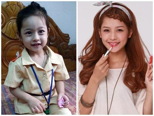 Phát sốt với bé gái có gương mặt giống hệt Chi Pu - Ảnh 1