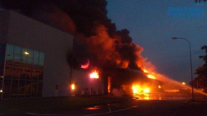 Nổ hóa chất, cháy lớn tại Khu công nghiệp VSIP Bình Dương - Ảnh 3