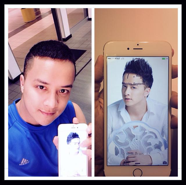 Cao Thái Sơn khoe Iphone 6 Plus, Giang Hồng Ngọc xấu đau đớn - Ảnh 1