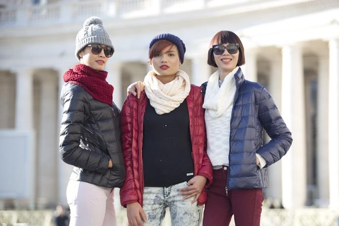 Top 5 Vietnam's Next Top Model 2014 dạo chơi trên đất Milan - Ảnh 7
