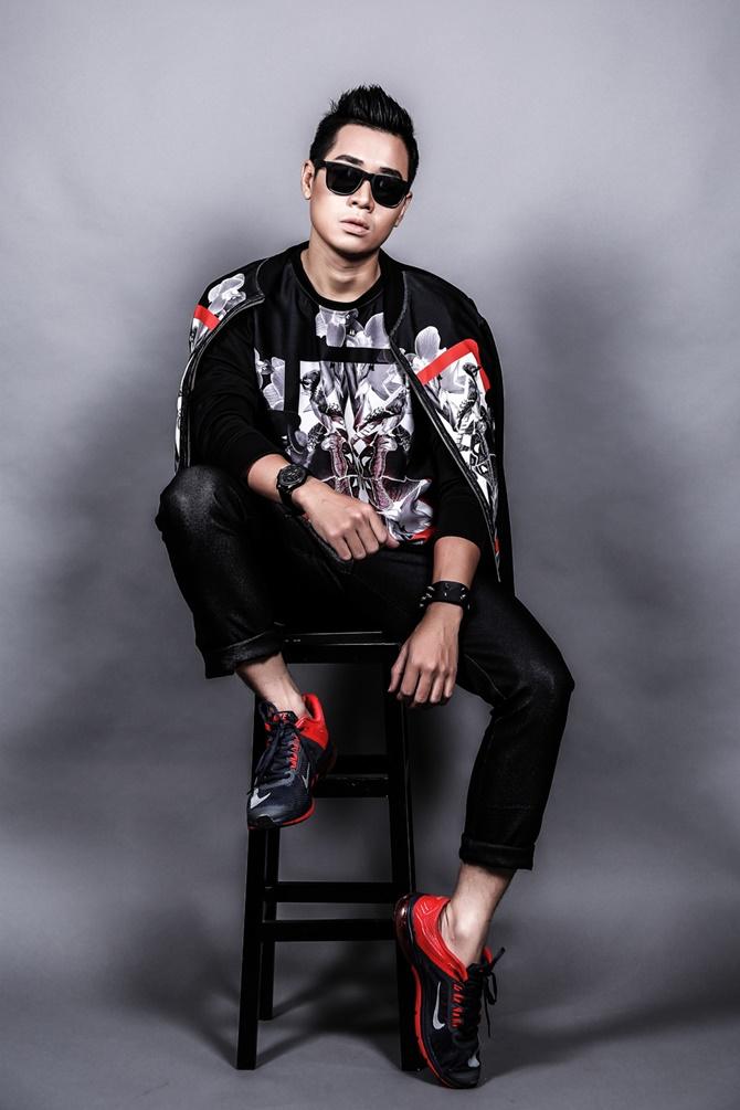 Nguyên Khang thay đổi hình ảnh để làm MC The Remix - Ảnh 3