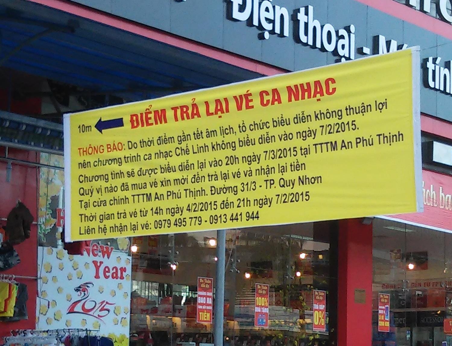Thực hư thông tin show Chế Linh bị đình chỉ ở Bình Định - Ảnh 2