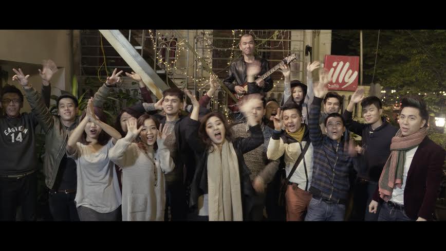 Dàn nghệ sĩ trẻ miền Bắc ra mắt MV mừng Tết đến Xuân về - Ảnh 1