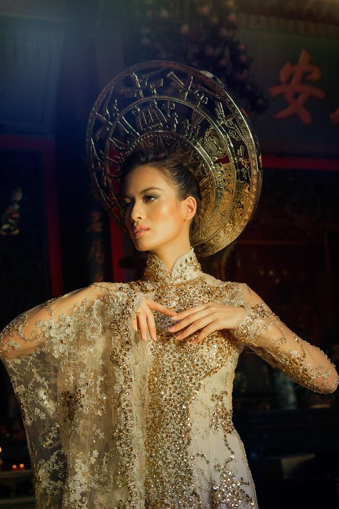 Diệu Huyền xuất hiện nổi bật trên tạp chí thời trang Vogue Ý - Ảnh 8