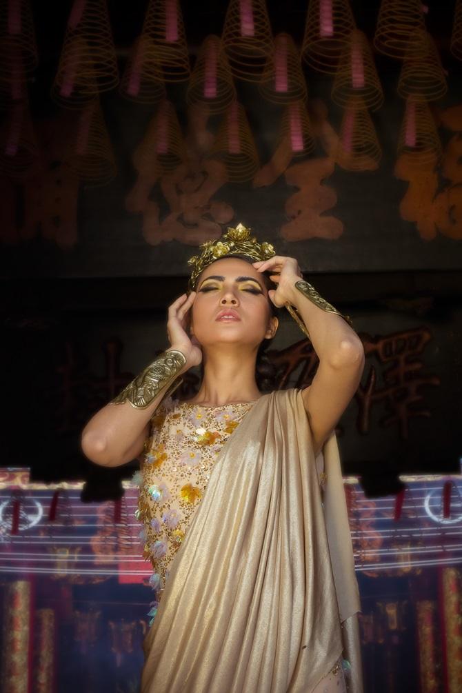Diệu Huyền xuất hiện nổi bật trên tạp chí thời trang Vogue Ý - Ảnh 5