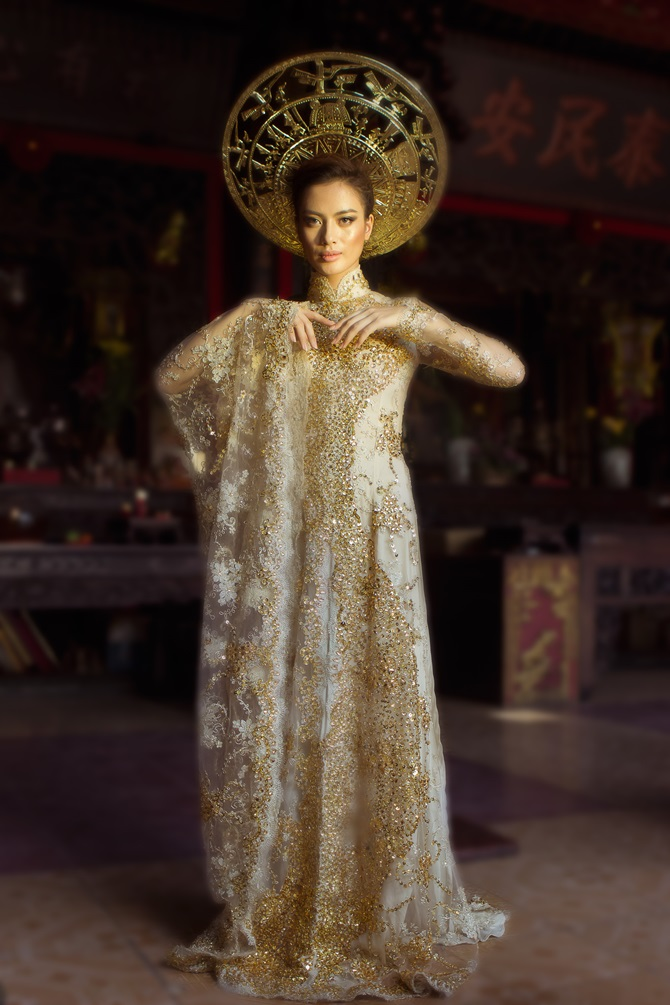 Diệu Huyền xuất hiện nổi bật trên tạp chí thời trang Vogue Ý - Ảnh 9