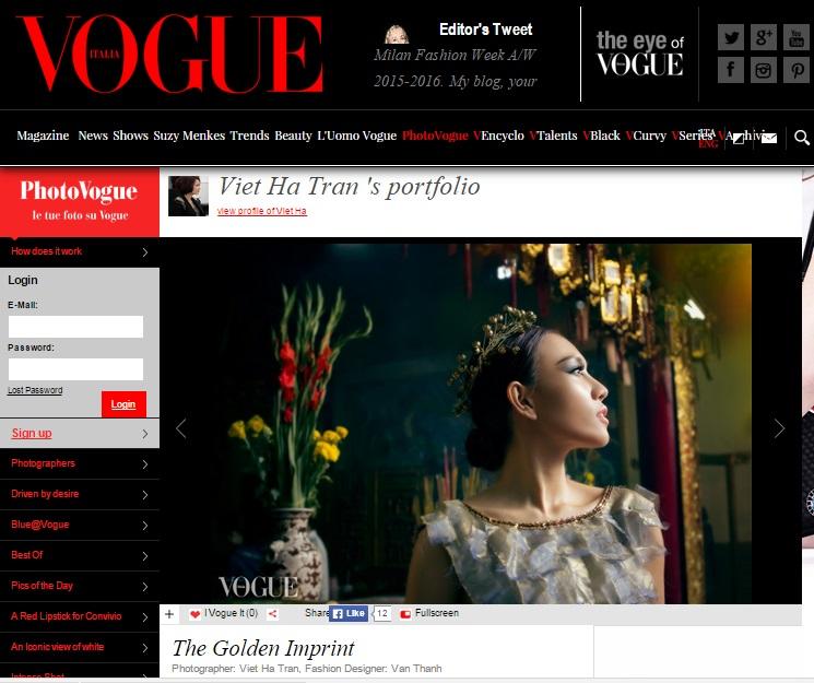 Diệu Huyền xuất hiện nổi bật trên tạp chí thời trang Vogue Ý - Ảnh 1