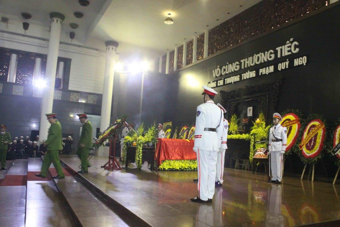 Lễ tang Thượng tướng Phạm Quý Ngọ tại Nhà Tang lễ Quốc gia - Ảnh 3