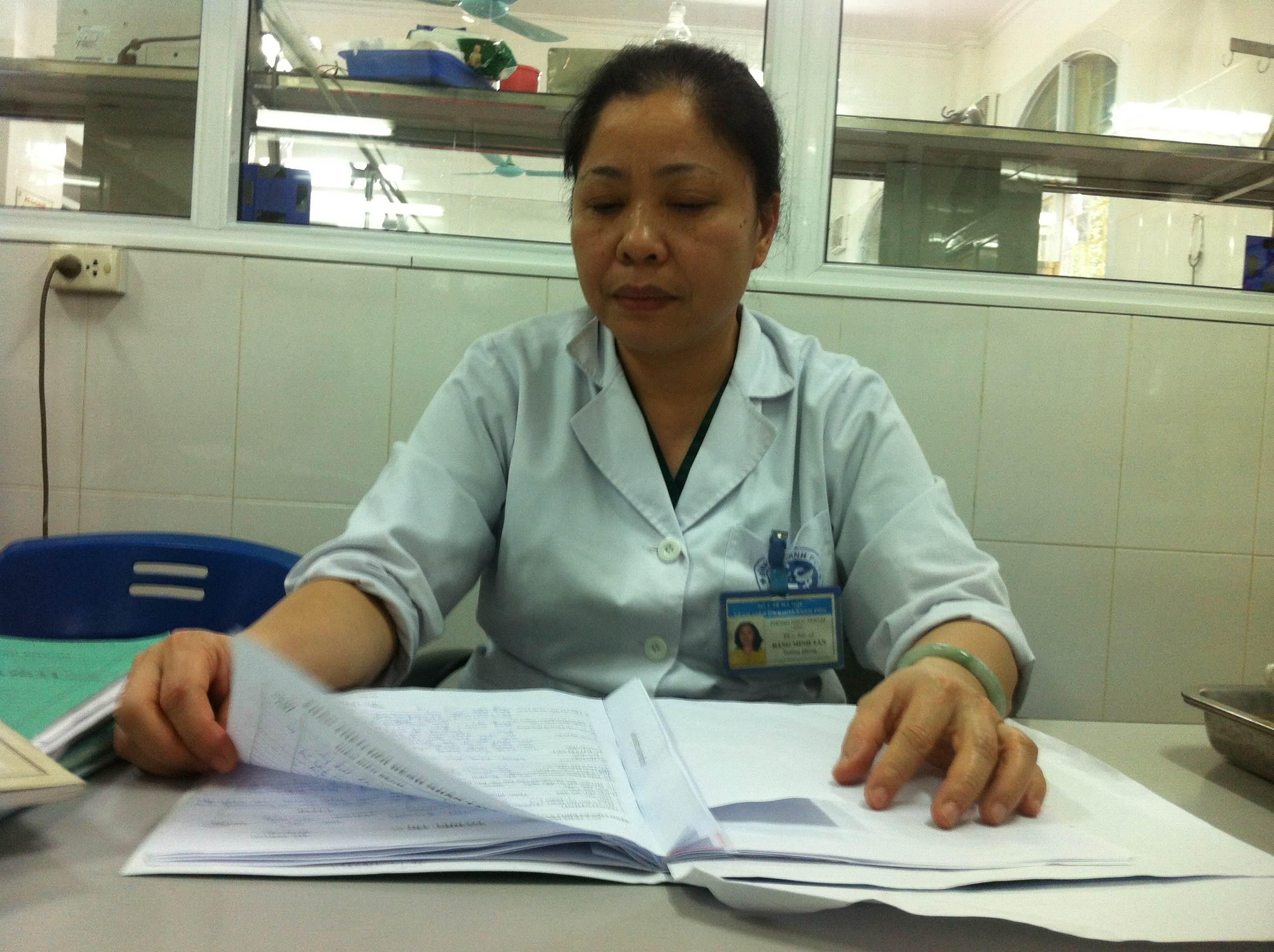 Vụ tai nạn ở Xã Đàn: Nữ sinh có nguy cơ tử vong - Ảnh 2