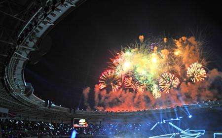 Những hình ảnh ấn tượng tại Lễ bế mạc Sea Games 27  - Ảnh 3