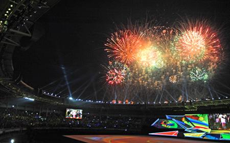 Những hình ảnh ấn tượng tại Lễ bế mạc Sea Games 27  - Ảnh 4