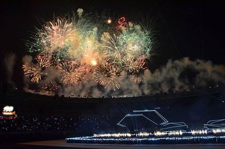 Những hình ảnh ấn tượng tại Lễ bế mạc Sea Games 27  - Ảnh 1