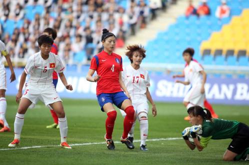 Thua Hàn Quốc 0-3, tuyển nữ Việt Nam tan mộng giành huy chương - Ảnh 1