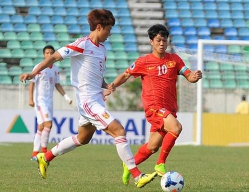 Clip: Thanh Tùng tỏa sáng, U19 Việt Nam vẫn bị Trung Quốc cầm hòa - Ảnh 1