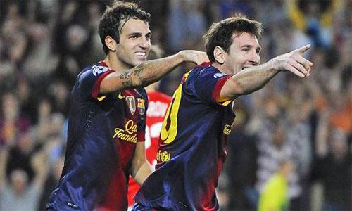 Fabregas kêu gọi Chelsea vung 250 triệu bảng tậu Messi - Ảnh 1