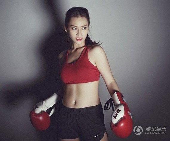 """Hot girl boxing Việt Nam """"gây bão"""" trên báo Trung Quốc - Ảnh 12"""