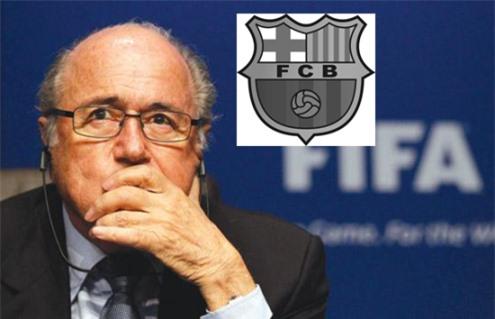 Barca bị cấm mua sắm cầu thủ trong một năm - Ảnh 1