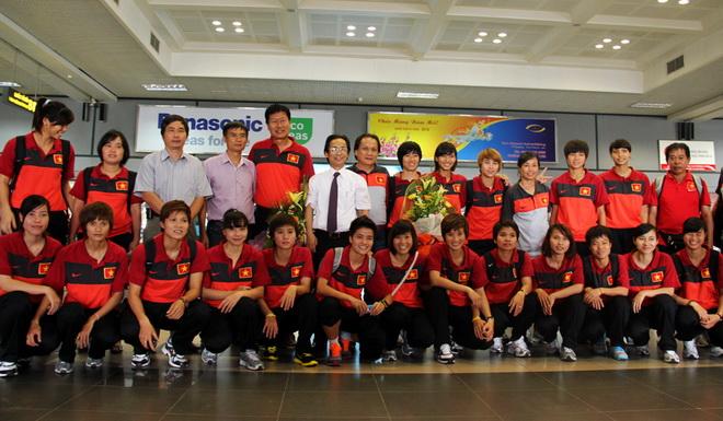 Đội tuyển nữ Việt Nam sẵn sàng giành vé dự World Cup 2015 - Ảnh 1