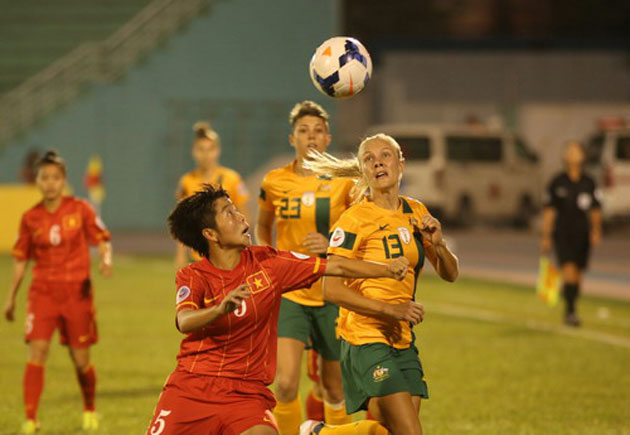 Video: Tuyển nữ Việt Nam thất bại 0-2 trước Australia - Ảnh 1
