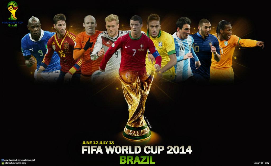 Lịch thi đấu World Cup 2014 Brazil - Ảnh 1