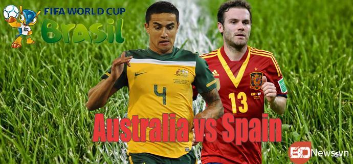 Lịch thi đấu World Cup 2014 đêm 23, rạng sáng ngày 24/6 - Ảnh 1
