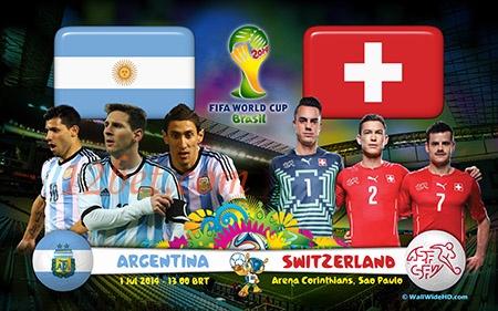 Lịch thi đấu World Cup 2014 đêm 1/7 và rạng sáng 2/7 - Ảnh 1