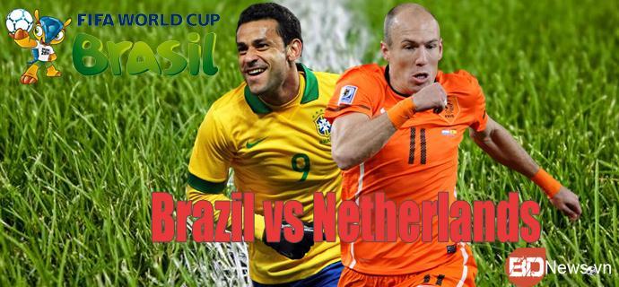 Lịch thi đấu World Cup 2014 ngày 13/7 - Ảnh 1