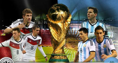 Argentina đấu với Đức: Lich thi đấu World Cup 2014 ngày 14/7 - Ảnh 1