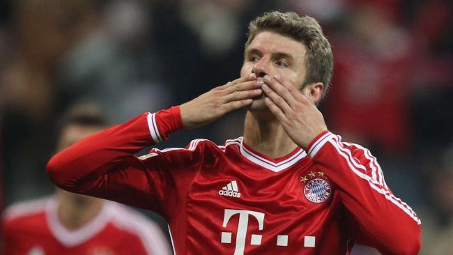 Thomas Muller gia nhập CLB 100 tại Bayern - Ảnh 1
