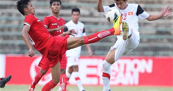 U19 Việt Nam-U19 Myanmar: Ngai vàng cho U19 Việt Nam - Ảnh 1